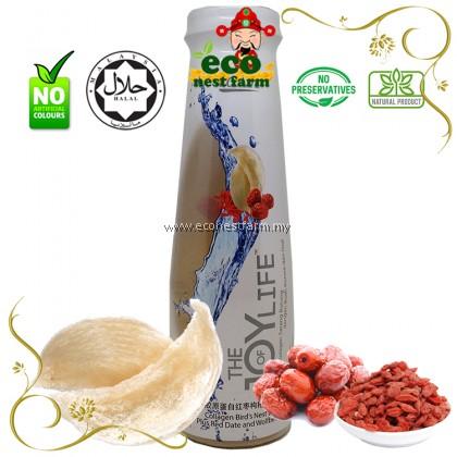 Ecolite Collagen Bird Nest Drink Plus Red Dates & Wolfberry 胶原蛋白红棗枸杞燕窝饮