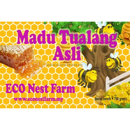 ECO Tualang Wild Honey (700g)