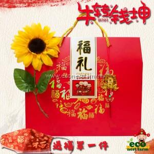 HAMPER CNY COLLAGEN BIRD NEST LONGAN GIFT BOX 新年礼盒 福燕饮 GB-6