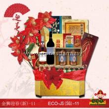 新年礼篮 金狮迎春-11 CNY Hamper JS-11