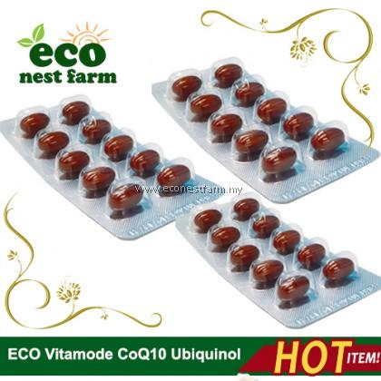 Halal ECO Vitamode CoQ10 Ubiquinol 100mg Softgel
