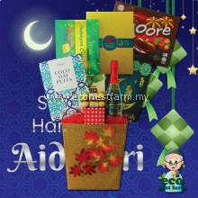 Free Shipping Raya Hamper Mubarak Aidilfitri Eid 2