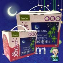 Free Shipping Raya Gift Mubarak Aidilfitri Eid ECOLITE Beauty Slimming Whitening Detox Drink Fiber Juice (6 bottle)