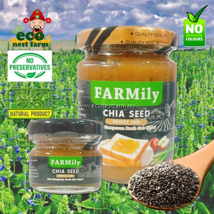 FARMILY FRUITS SPREAD VEGETABLE JAM CHIA SEED FLAVOUR