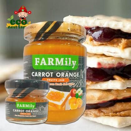 FARMILY FRUITS SPREAD VEGETABLE JAM CARROT ORANGE FLAVOUR